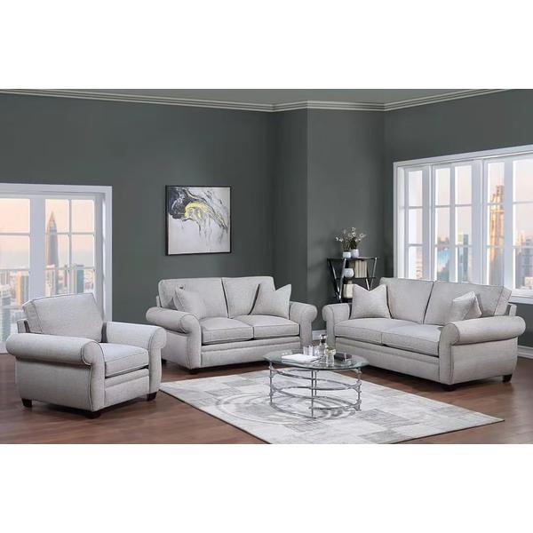 See Details - Oasis Cream Sofa, Loveseat & Chair, U6327