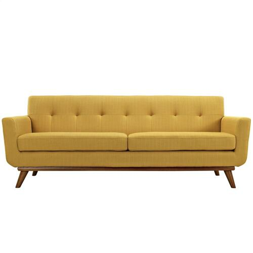 Modway - Engage Loveseat and Sofa Set of 2 in Citrus