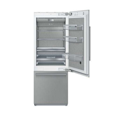 Built-in fridge-freezer combination