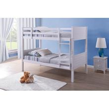 See Details - Twin/twin Wood Bunkbed (wh)