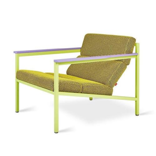 Gus* x LUUM Halifax Chair - Chatoyant Violet Pop Chatoyant