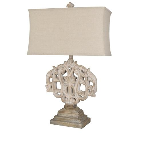 Crestview Collections - Filigree Table Lamp