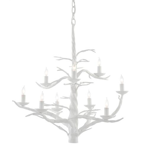 Gallery - Treetop White Large Chandelier
