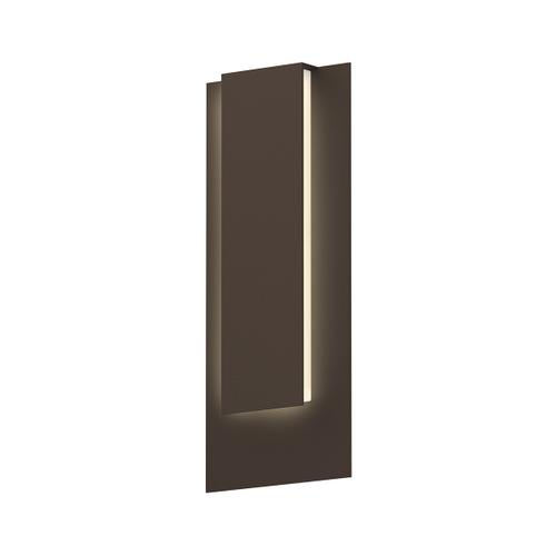 Sonneman - A Way of Light - Reveal Tall LED Sconce [Color/Finish=Textured Bronze]