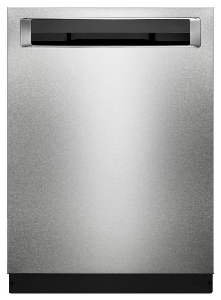 KitchenAid46 Dba Dishwasher With Third Level Rack And Printshield™ Finish, Pocket Handle - Stainless Steel With Printshield™ Finish