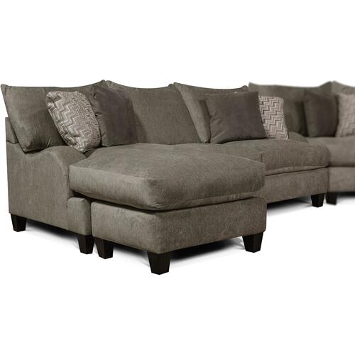 6N00-56 Catalina Sofa with Floating Ottoman Chaise