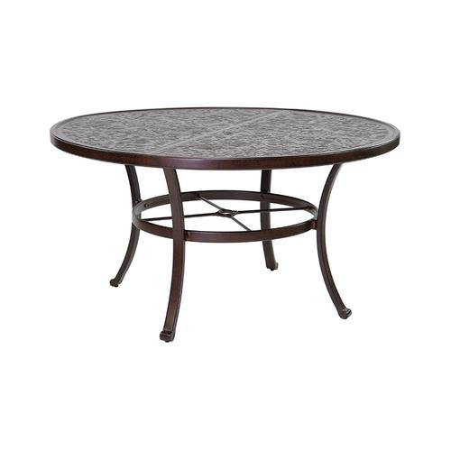 """Castelle - 54"""" Vintage Round Dining Table"""