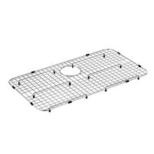 "Moen Stainless Steel Rear Drain Bottom Grid Accessory 29"" x 16"""