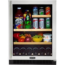 Marvel Glass Door Refrigerator and Beverage Center - 6GARM