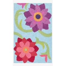 View Product - Han07 Lt. Blue / Berry Rug