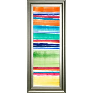 "Classy Art - ""Cabana Panel III"" By Regina Moore Framed Print Wall Art"
