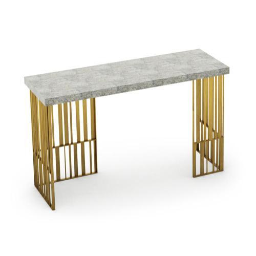Rectangular console table
