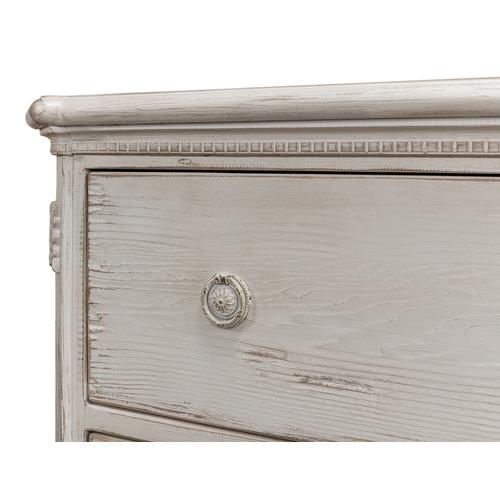 Fisher Commode With Stone Grey Finish