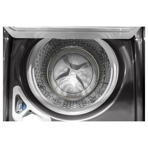 GE Appliances - GE® 5.0 cu. ft. Capacity Smart Washer with Stainless Steel Basket