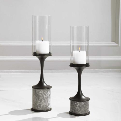 Deane Candleholders, S/2