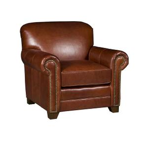 Annika Leather Chair, Angelina Leather Ottoman