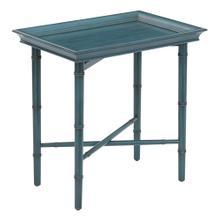 See Details - Salem Folding Serving Tray Blue, Folded Kd