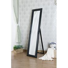 7058 BLACK Full Length Standing Mirror