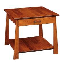 See Details - Craftsmen Large End Table