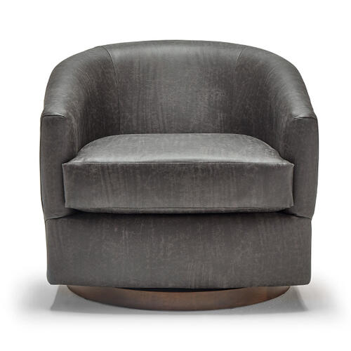 ENNELY Swivel Barrel Chair