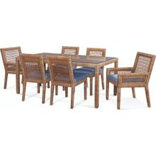 Pine Isle Rectangular Dining Room Set