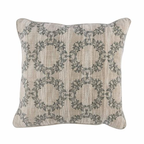 See Details - Omega Bay Green Pillow