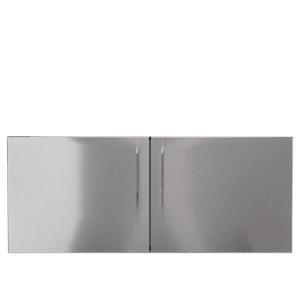 "Julien - OUTDOOR KITCHEN BUILT-IN INSERT IN STAINLESS STEEL  PURE 48"" Built-in Access Double Doors Mid-Height"