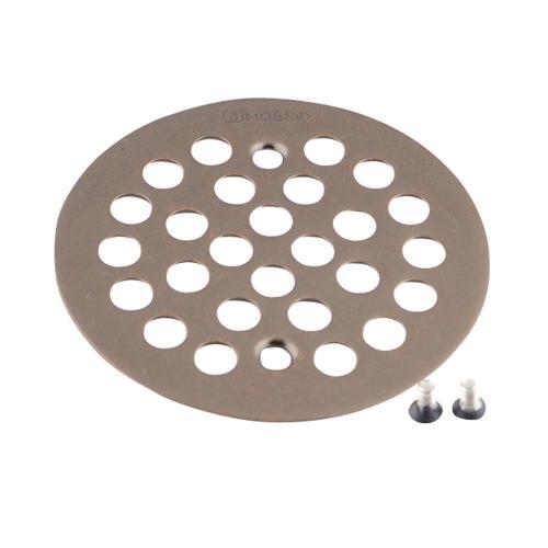"""Moen Oil Rubbed Bronze 4-1/4"""" Shower Drain Cover"""
