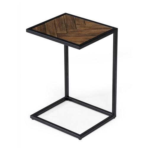 Modrest Pasada - Industrial Brown Acacia Laptop End Table