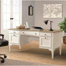 Myra - Writing Desk - Natural/paperwhite Finish