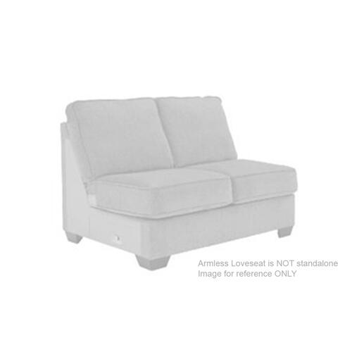 Aberton Armless Loveseat