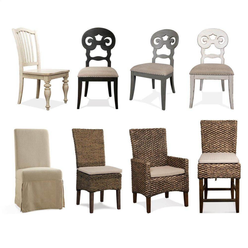 See Details - Mix-n-match Chairs - Side Chair - Dover White Finish