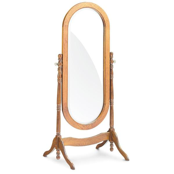 See Details - Oval Cheval Mirror