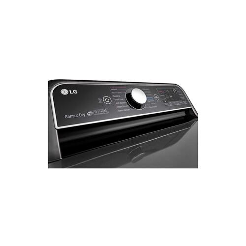 LG - 7.3 cu.ft. Smart wi-fi Enabled Electric Dryer with TurboSteam™
