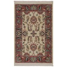 Ashara Agra Ivory Rectangle 2ft 6in x 4ft