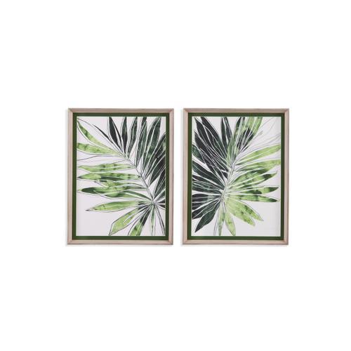 Bassett Mirror Company - 2 PC Expressive Palm