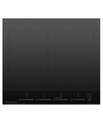 """Induction Cooktop, 24"""", 4 Zones, with SmartZone"""