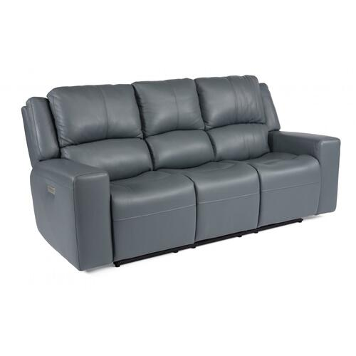 Nelson Power Reclining Sofa with Power Headrests