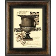 Transitional Sepia Urn I By Visions Studio