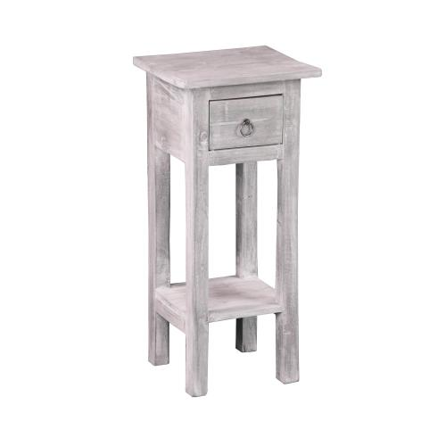 CC-TAB1792LD-SW  Accent Table  Distressed Light Gray