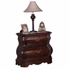 See Details - Tuscany Modern Wood Night Stand Cherry Finish