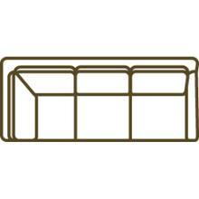 1299-23rf Cornering Sofa