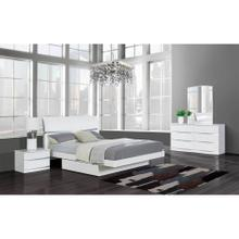 AURORA WHITE BEDROOM