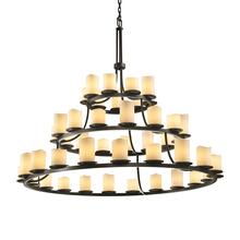 Dakota 45-Light 3-Tier Ring Chandelier