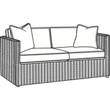Paradise Bay Loveseat