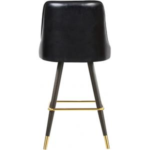 "Portnoy Faux Leather Bar  Counter Stool - 19.5"" W x 18.5"" D x 40.5"" H"