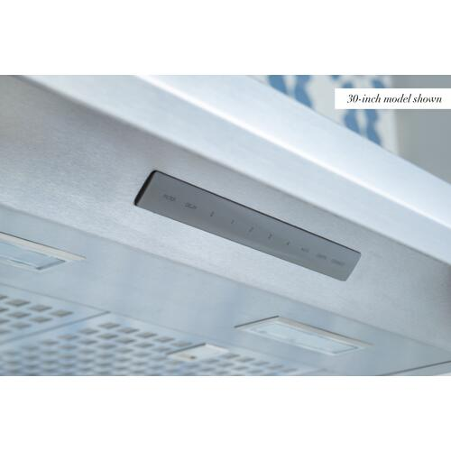 Thermador - Pyramid Chimney Wall Hood 36'' Stainless Steel HMCB36WS