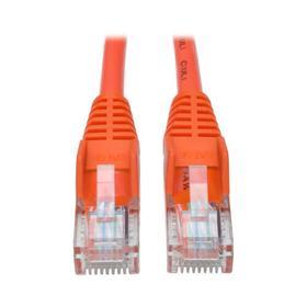 Cat5e 350 MHz Snagless Molded (UTP) Ethernet Cable (RJ45 M/M) - Orange, 6 ft.