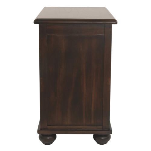 Product Image - Barilanni Chairside End Table With Usb Ports & Outlets