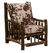 Lounge Chair - Natural Hickory - Standard Fabric